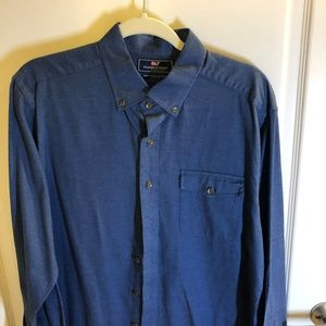Vineyard Vines Navy Button-up